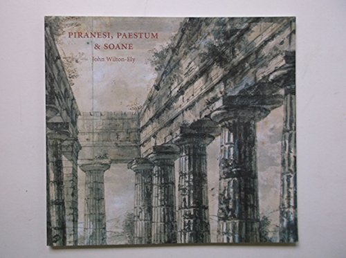 9781898592150: Piranesi, Paestum and Soane