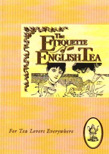 9781898617068: Etiquette of an English Tea (The etiquette collection)