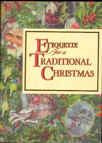 9781898617273: Etiquette for a Traditional Christmas (Etiquette Collection)