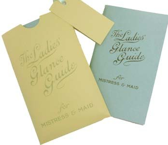 9781898617471: The Ladies' Glance Guide: For Mistress and Maid