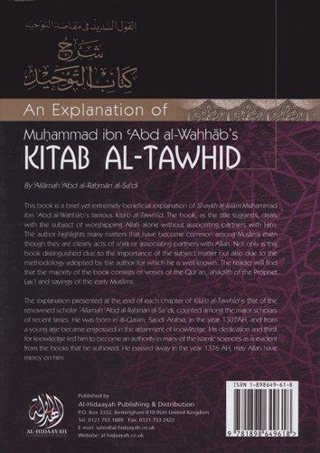 An Explanation of Muhammad Ibn Abd Al-Wahhab's Kitab Al-Tawhid (English and Arabic Edition): ...