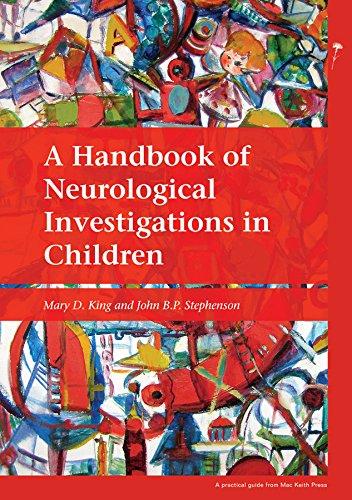 9781898683698: A Handbook of Neurological Investigations in Children