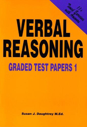 Verbal Reasoning: Graded Test Papers No. 1: Daughtrey, Susan J.