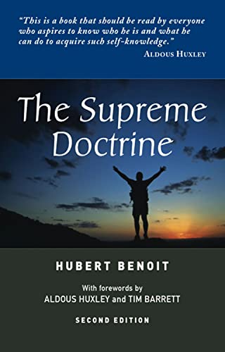 9781898723141: The Supreme Doctrine: Psychological Studies in Zen Thought (Second Edition)
