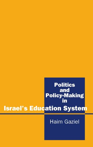9781898723424: Politics and Policy-Making in Israel's Education System