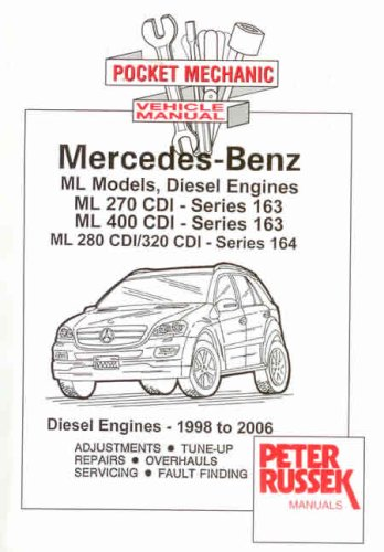 9781898780328: Pocket Mechanic for Mercedes-Benz Vito and Viano, Series W639, 2148 C.C. CDI Diesel and V6 Petrol Engine: 2004 to 2006