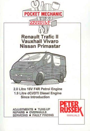 9781898780915: Pocket Mechanic for Renault Trafic II, Vauxhall/Opel