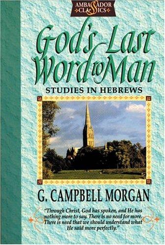 9781898787907: God's Last Word to Man