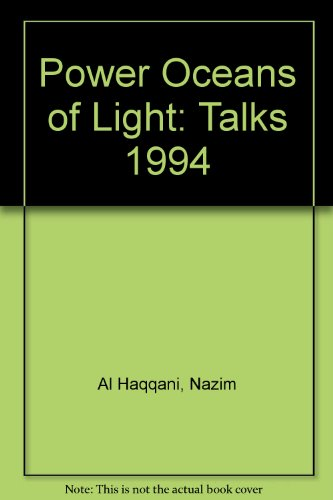 9781898863052: Power Oceans of Light: Talks 1994