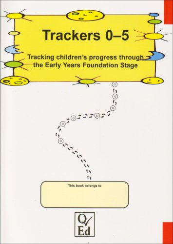 9781898873518: Trackers 0-5: Tracking Children's Progress Through the Early Years Foundation Stage