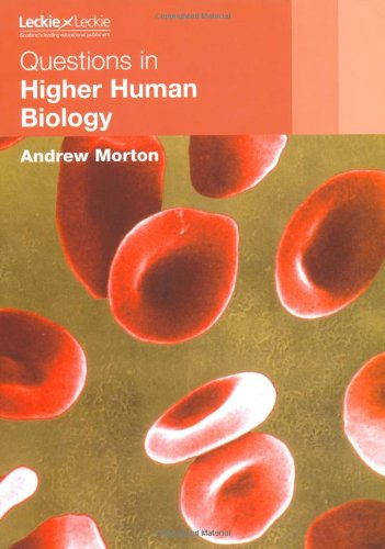 higher human biology essay questions 2009 human biology higher  marking instructions 2009 human biology section b question acceptable answer mark unacceptable answer negates 1 (a) (i).