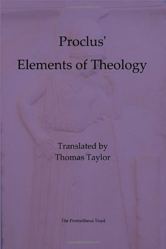 9781898910619: Elements of Theology (Thomas Taylor)