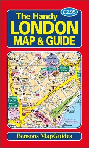 9781898929246: The Handy London Map and Guide