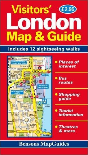 Visitors' London Map and Guide: Bensons MapGuides