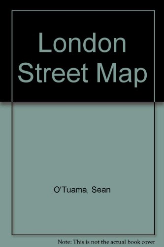 London Street Map (9781898929352) by Sean O'Tuama