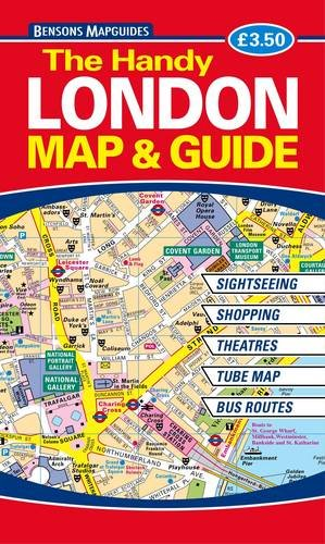 9781898929444: The Handy London Map and Guide