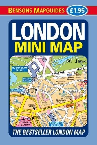 London Mini Map: Bensons MapGuides