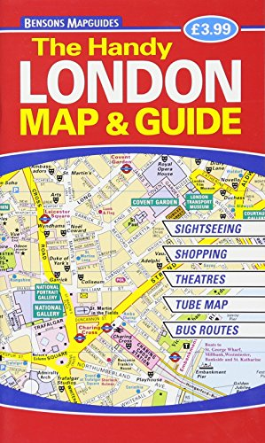 9781898929543: The Handy London Map & Guide