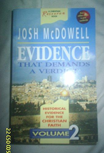 9781898938637: Evidence That Demands a Verdict