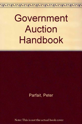 9781899205042: Government Auction Handbook