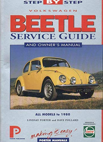 Volkswagen Beetle up to 1980: Step-by-Step Service Guide (Porter Manuals): Porter Manuals
