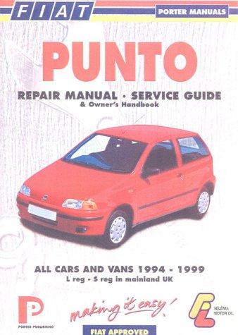 9781899238279 fiat punto repair manual service guide abebooks rh abebooks co uk