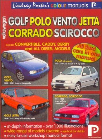 Volkswagen Golf, Polo, Scirocco, Corrado: Workshop Manual: Porter, Lindsay