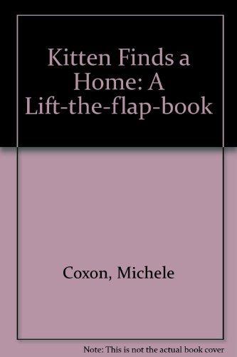 9781899248223: Kitten Finds a Home: A Lift-the-flap-book (Lift the Flap Book)