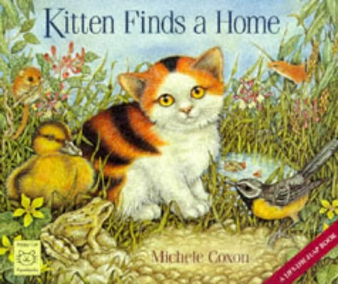 9781899248278: Kitten Finds a Home: A Lift-the-flap-book (Happy Cat Paperbacks)