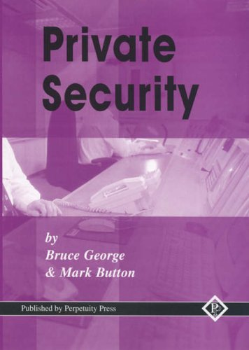 9781899287703: Private Security Vol 1: v. 1
