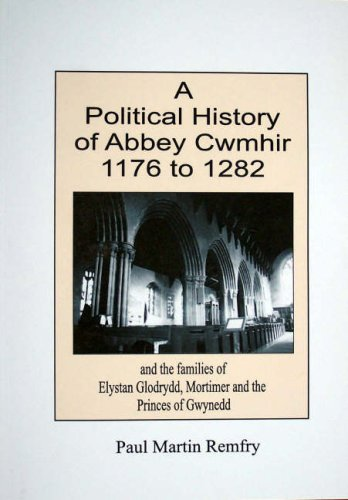 9781899376476: Political History of Abbey Cwmhir, 1176 to 1282