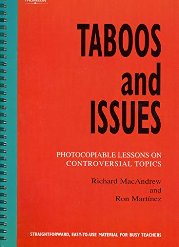 Taboos and Issues: Photocopiable Lessons on Controversial: Martinez, Ron, MacAndrew,