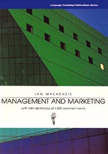 Management and Marketing: With Mini-dictionary of 1,: MacKenzie, Ian