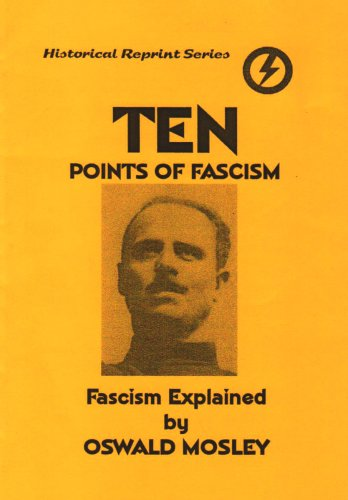 9781899435883: 10 Points of Fascism: Fascist Policy Explained