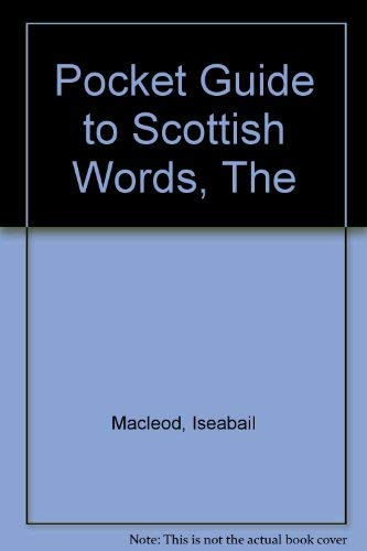 9781899471010: Pocket Guide to Scottish Words, The