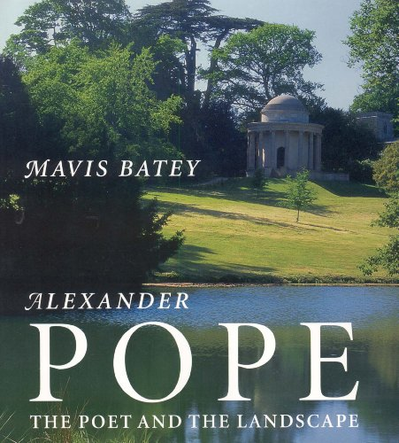 9781899531059: Alexander Pope: The Poet and the Landscape
