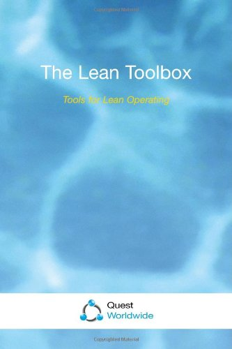 9781899682164: The Lean Toolbox: Tools for Lean Operating
