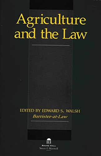 9781899738199: Agriculture and the Law