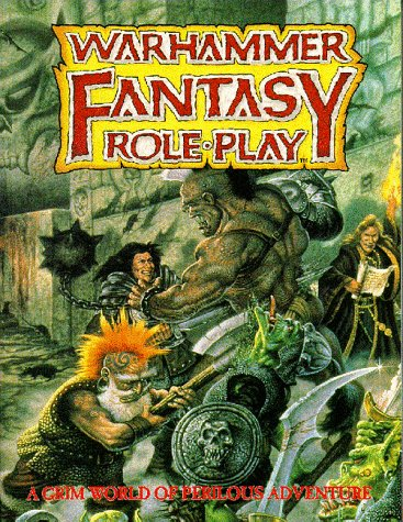 9781899749010: Warhammer Fantasy Roleplay : A Grim World of Perilous Adventure