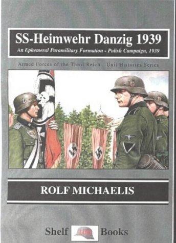 9781899765010: Ss-Heimwehr Danzig 1939: