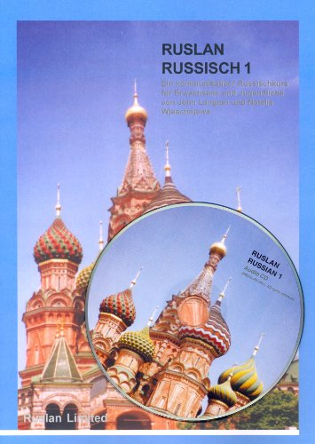 9781899785544: Ruslan Russisch 1. With audio-CD with the book's lessons. Lehrbuch mit Audio CD