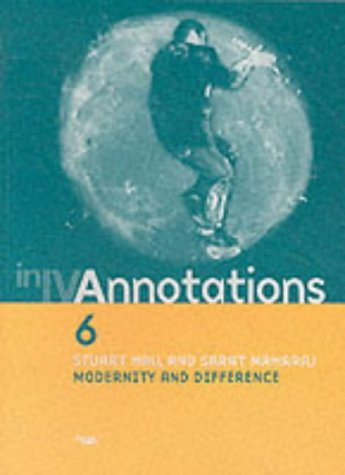 9781899846306: Annotations: Modernity and Difference No. 6