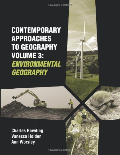 9781899857982: Contemporary Approaches to Geography, Vol. 3: Environmental Geography