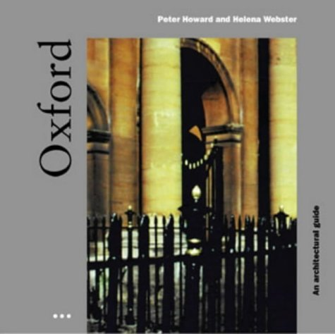 9781899858477: OXFORD: A Guide to Recent Architecture (Heritage Edition)
