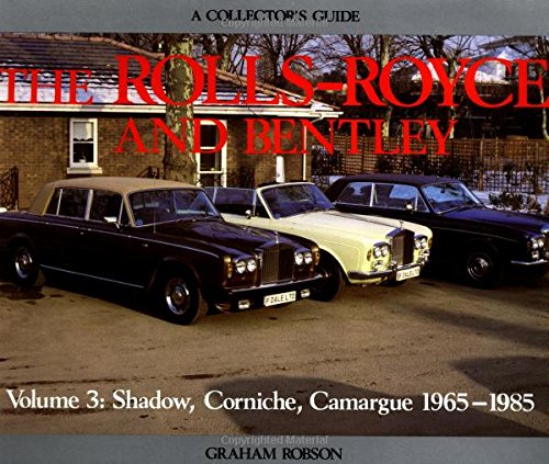 9781899870448: Rolls-Royce and Bentley Collector's Guide (A collector's guide) (v. 3)