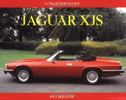9781899870639: Jaguar XJS: A Collector's Guide