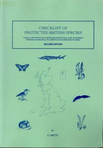 Checklist of Protected British Species: compiled Christopher J.