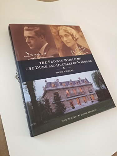 9781900055000: The Private World of the Duke and Duchess of Windsor
