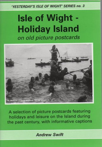 9781900138475: Isle of Wight - Holiday Island on Old Picture Postcards