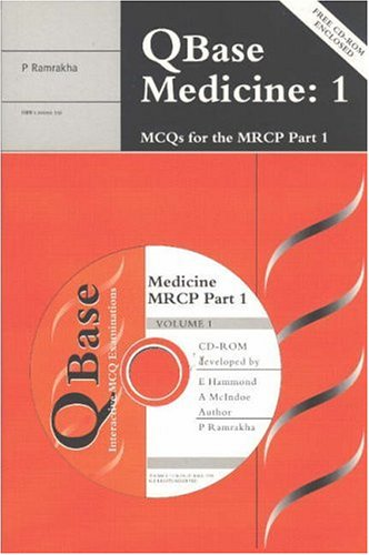 QBase Medicine Paperback with CD-ROM: Volume 1, MCQS for the MRCP, Part 1 (Mixed media product): ...